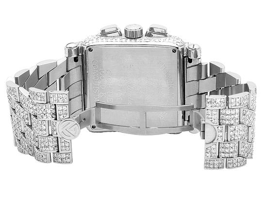 Franck Muller Mens Conquistador Cortez Iced Out Diamond Watch 31.50 Ct Image 3