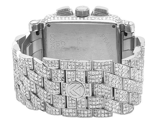 Franck Muller Mens Conquistador Cortez Iced Out Diamond Watch 31.50 Ct Image 6