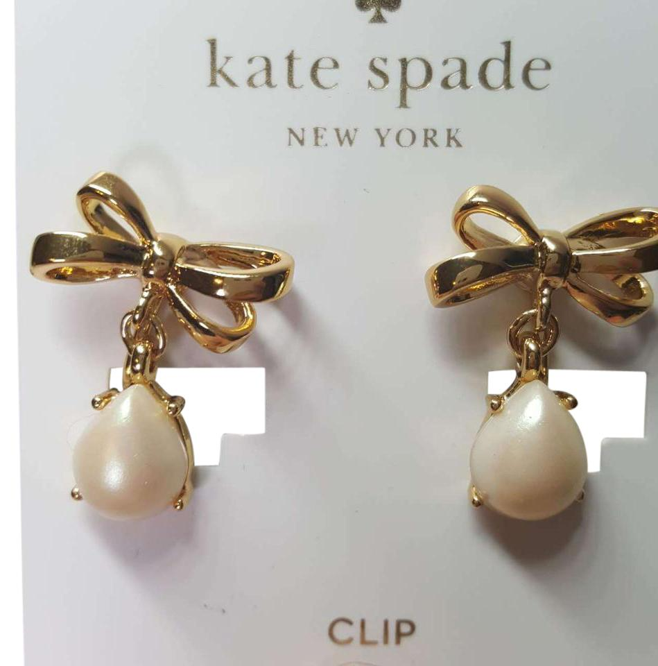Kate Spade Drop Clip Earrings