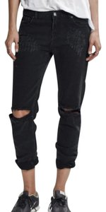 OneTeaspoon Boyfriend Cut Jeans-Dark Rinse