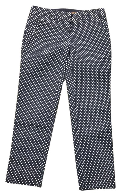 Item - Navy with White Polka Dots Capris Size 2 (XS, 26)