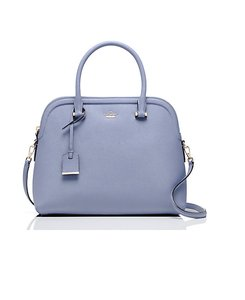 Kate Spade New With Tags Leather Satchel in Oyster Blue