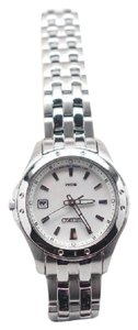 Seiko Seiko SXDE09 Analog Mother-Of-Pearl Dial Watch Date Womens READ DESCR