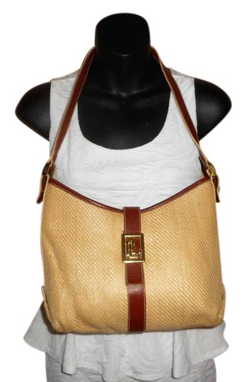 Preload https://img-static.tradesy.com/item/21714407/ralph-lauren-brown-straw-and-leather-shoulder-bag-0-1-540-540.jpg