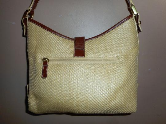Ralph Lauren Straw Jute Leather Tote Shoulder Bag Image 10
