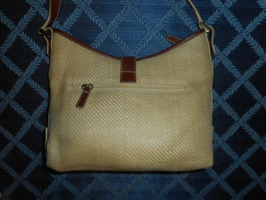 Ralph Lauren Straw Jute Leather Tote Shoulder Bag Image 6