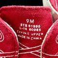 Band of Outsiders Sperry Boat Canvas red Flats Image 4