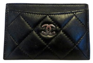 21f0ef2250c6 Chanel Classic Chanel Card Holder Wallet Business Credit Case Quilted
