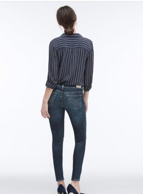 AG Adriano Goldschmied Skinny Jeans-Medium Wash Image 2