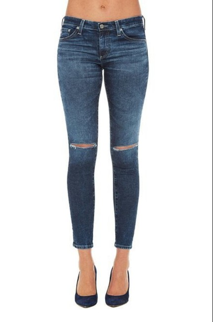 AG Adriano Goldschmied Skinny Jeans-Medium Wash Image 3