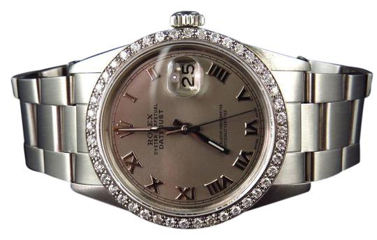 Preload https://img-static.tradesy.com/item/21714868/rolex-stainless-steel-mens-36-mm-datejust-oyster-white-diamond-25-ct-watch-0-1-540-540.jpg