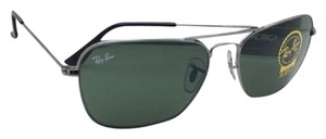 Ray-Ban RAY-BAN Sunglasses CARAVAN RB 3136 004 58-15 140 Gunmetal w/G15 Green