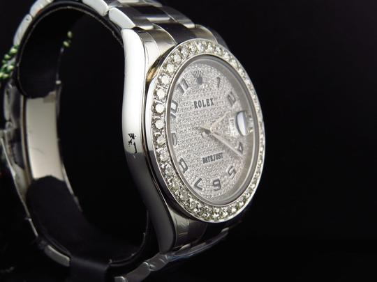 Rolex Custom Mens New 41 MM 116300 Date Just Il 2 With Genuine Diamonds 7 Ct Image 5