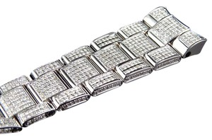 Jewelry Unlimited Brand New Mens Datejust II 41mm Pave Set Diamond Band with 9 Ct Custom