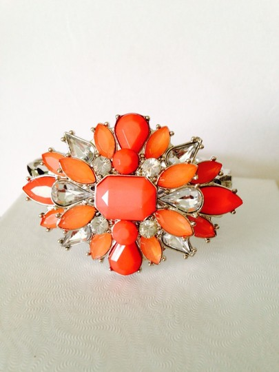 Other Embellished by Leecia 3-Piece Set Faceted Shades Of Orange Image 2