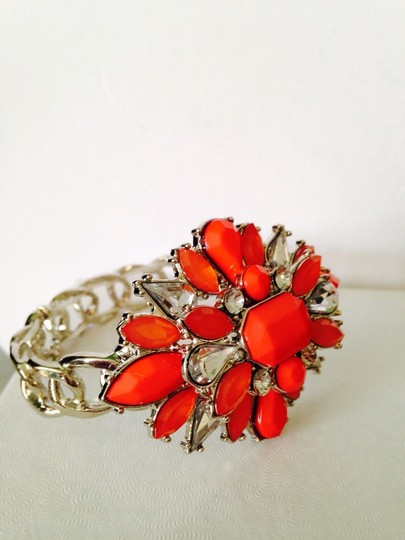 Other Embellished by Leecia 3-Piece Set Faceted Shades Of Orange Image 3
