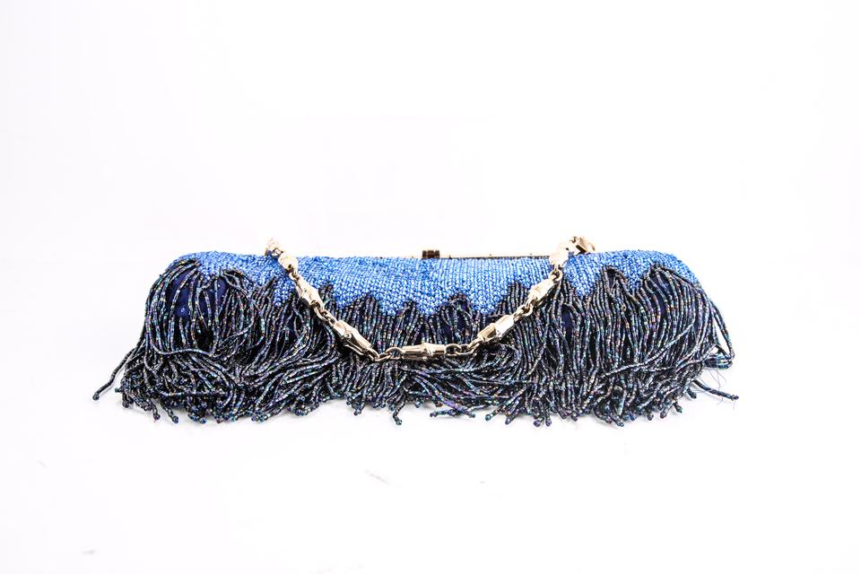 621445185892 Gucci Evening * Beaded Fringe Crystal with Dragon Head Closure Shoulder Bag  - Tradesy