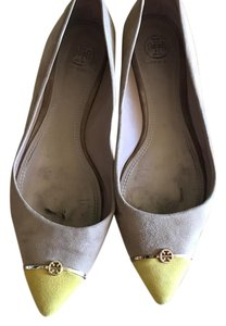 Tory Burch camel and yellow Flats