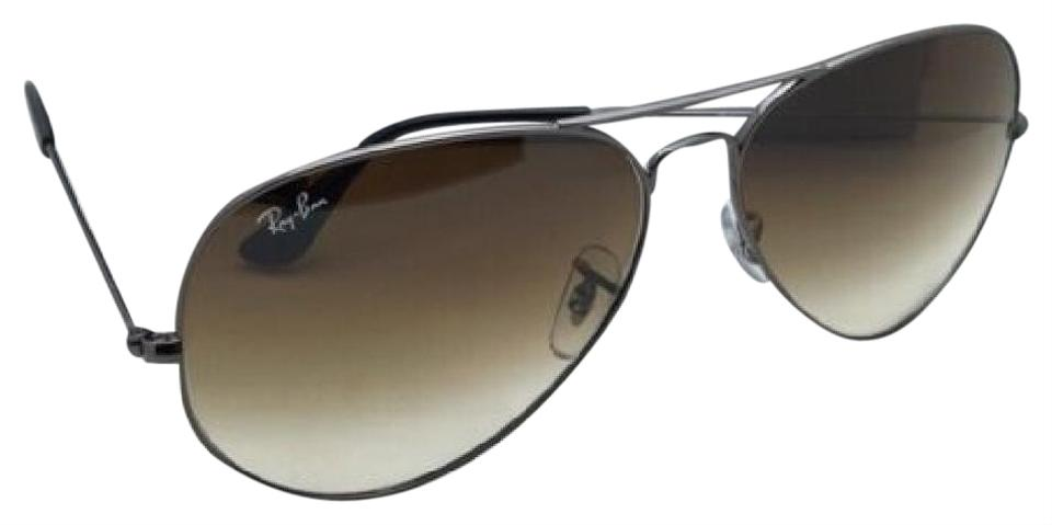 7e81ab60c45 Ray-Ban New Large Metal Rb 3025 004 51 55-14 135 Gunmetal Aviator W ...