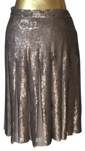BCBGMAXAZRIA Skirt bronze and taupe