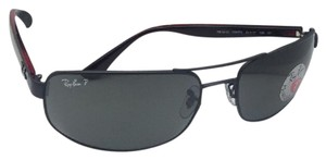 Ray-Ban Polarized RAY-BAN Sunglasses RB 3445 006/P2 64-17 130 Matte Black