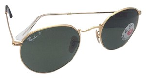 Ray-Ban Polarized RAY-BAN Sunglasses ROUND METAL RB 3447 112/58 Matte Gold
