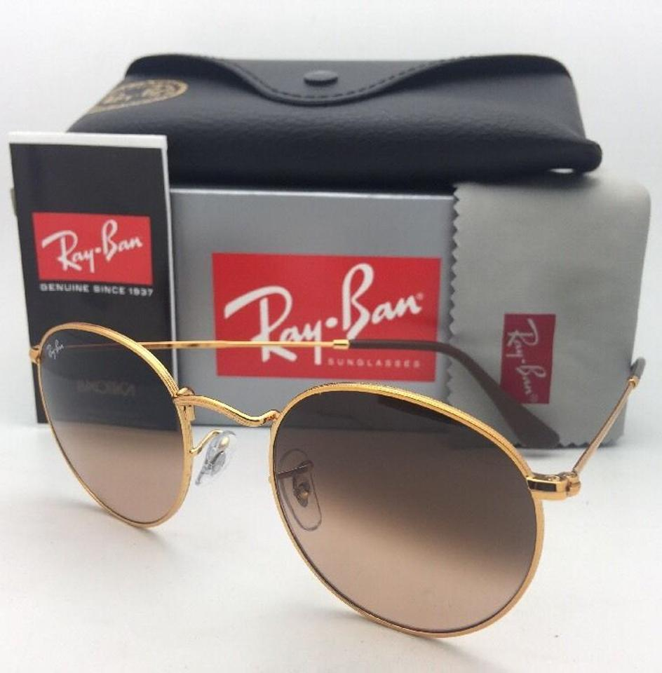 a624bd656e9 Ray-Ban Round Metal Rb 3447 9001 A5 50-21 Bronze W  Brown Fade Pink 9001 A5  W  Sunglasses - Tradesy