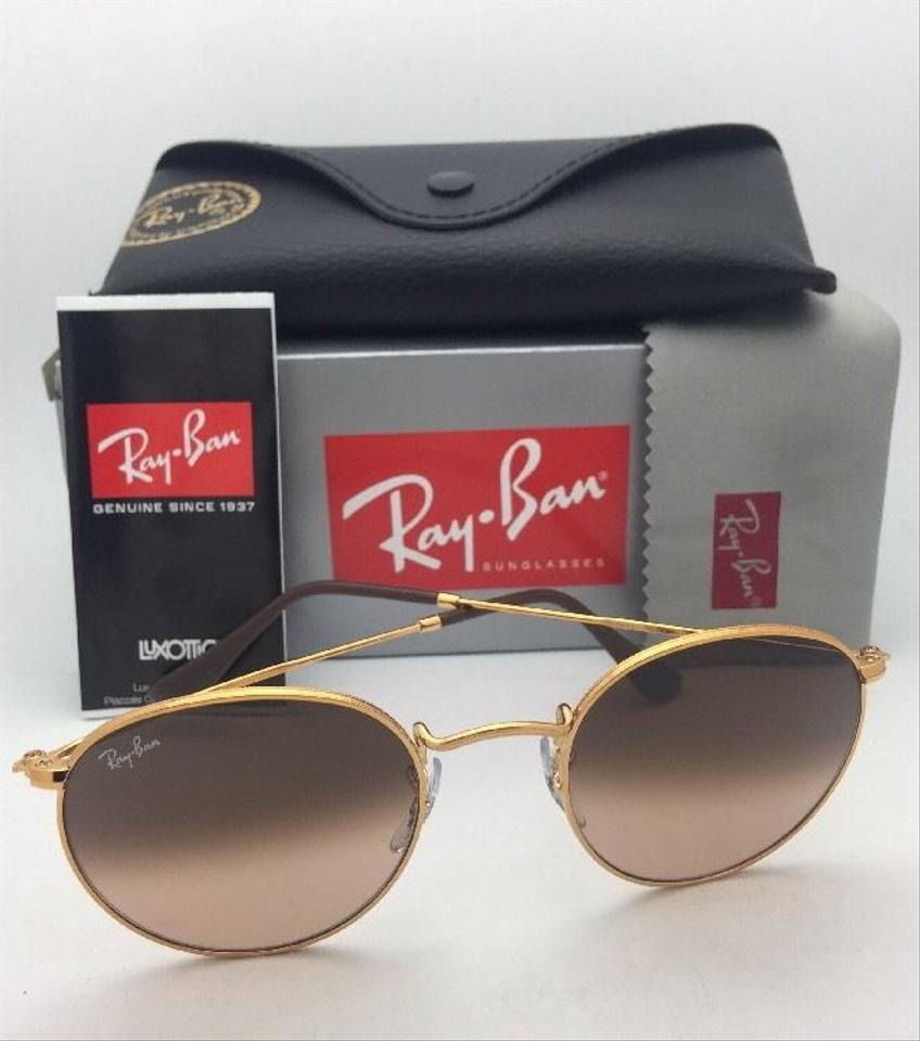837f18c526 Ray-Ban Round Metal Rb 3447 9001 A5 53-21 Bronze W