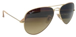 Ray-Ban Ray-Ban Sunglasses RB 3025 Large Metal 112/85 55-14 Gold w/ Brown Fade