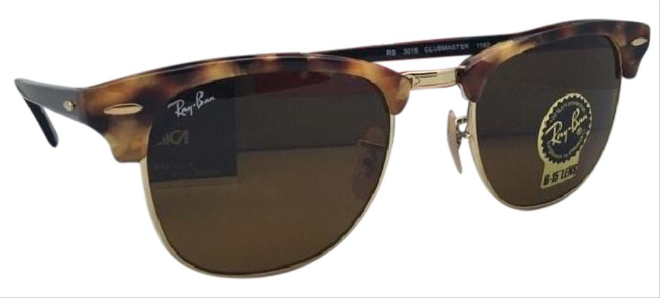 4820c8a5e8 Ray-Ban New RAY-BAN Sunglasses CLUBMASTER RB 3016 1160 51-21 Havana ...