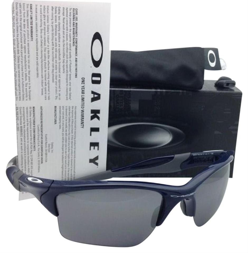 a714d9e09d Oakley OAKLEY Sunglasses HALF JACKET 2.0 XL OO9154-24 Blue w  Black Iridium  Image ...