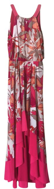 Item - Pink Coral Long Casual Maxi Dress Size 8 (M)