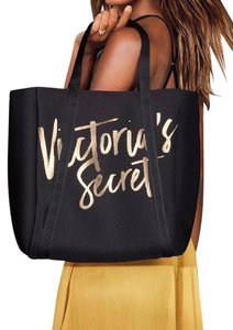 6bb212151d Added to Shopping Bag. Victoria s Secret Limited Edition Insulated Pocket  Beach Picnic Logo Tote in Black