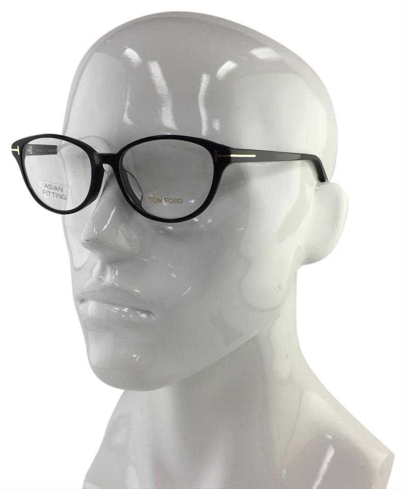 1dc4a4f3a92f Tom Ford Authentic Asian Fit FT 5422-F 001 Cateye Black Eyeglasses Image 0  ...