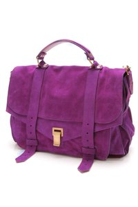 Proenza Schouler Grape Messenger Bag