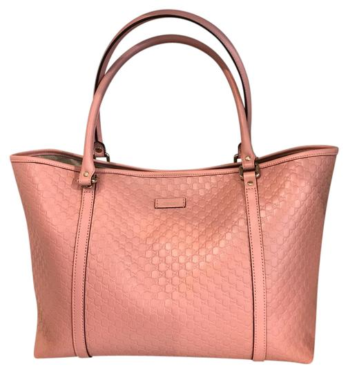 Preload https://img-static.tradesy.com/item/21717400/gucci-large-gg-soft-pink-leather-tote-0-1-540-540.jpg
