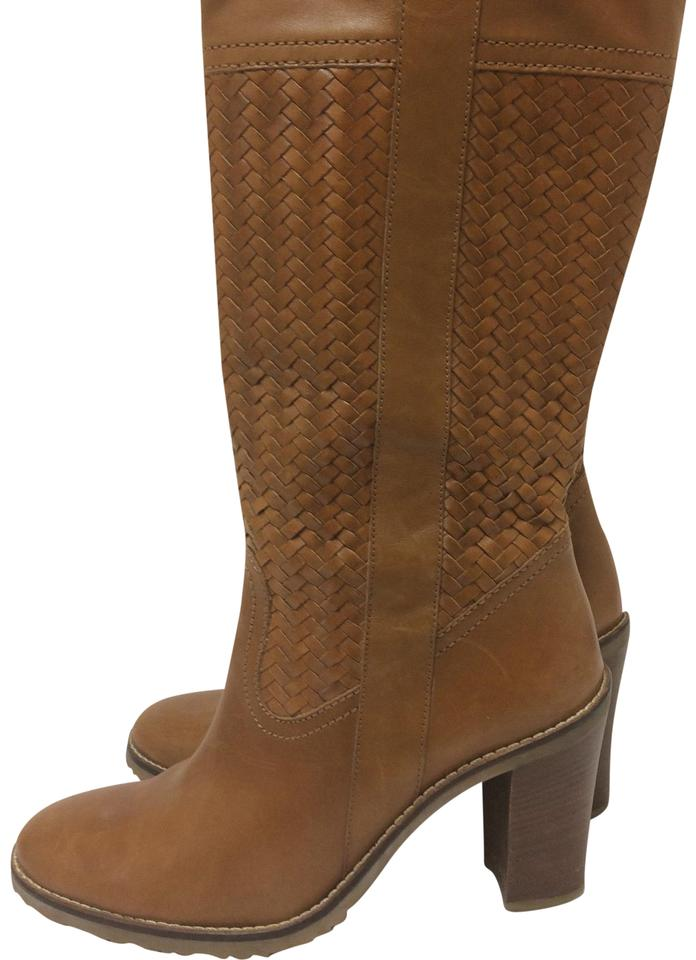 fa77461a69 Cole Haan Tan Woven Tall Boots/Booties Size US 7 Regular (M, B ...