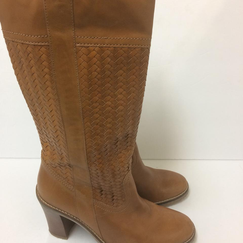 65f125fa3c Cole Haan Tan Woven Tall Boots/Booties Size US 7 Regular (M, B) - Tradesy