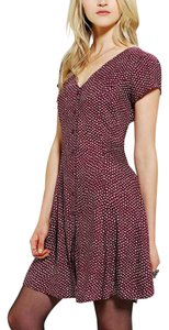 Band of Gypsies short dress Dark Red / Wine / Bordeaux on Tradesy