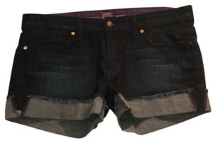 Rich & Skinny Denim Shorts-Dark Rinse