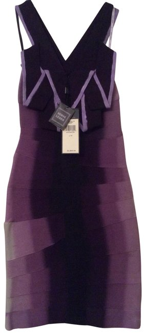 Item - Purple Mid-length Night Out Dress Size 0 (XS)