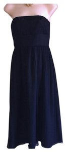 J.Crew Arabelle Silk Chiffon Strapless 8 Dress