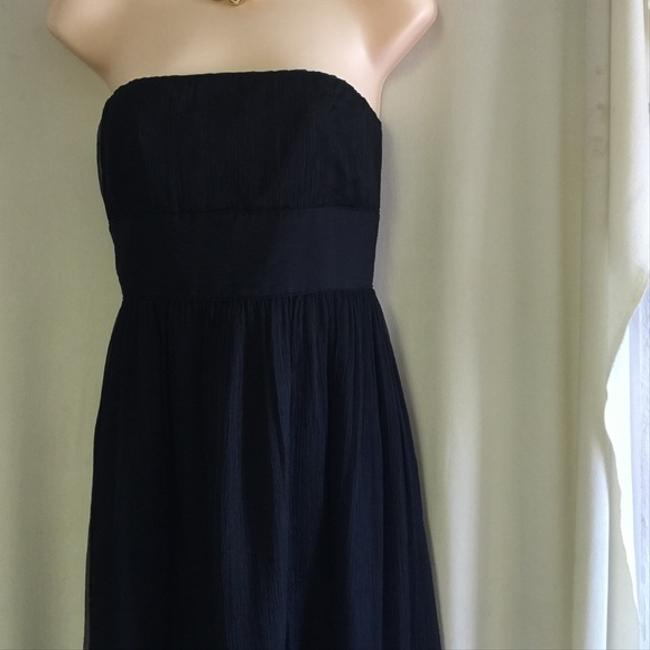 J.Crew Arabelle Silk Chiffon Strapless 8 Dress Image 2