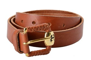 Just Cavalli Just Cavalli Women's Brown 100% Genuine Leather Belt US 36 IT 90