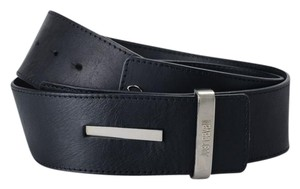 Just Cavalli Just Cavalli Women's Black Adjustable Wide Belt US 36/42 IT 90/105