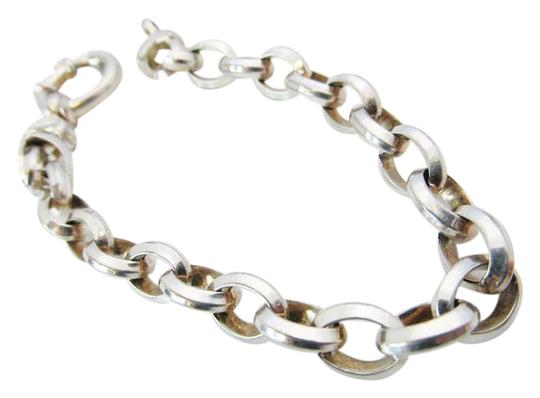 Preload https://img-static.tradesy.com/item/21721295/milor-silver-sterling-oval-link-chain-2700g-bracelet-0-1-540-540.jpg