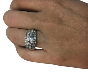 Zales White Marquise Cut Diamond 14k Gold Engagement Ring