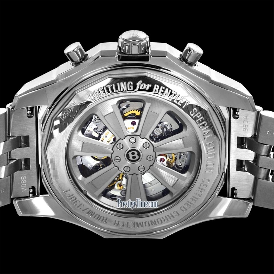 Breitling Bentley B05 Unitime Stainless Steel Black Dial