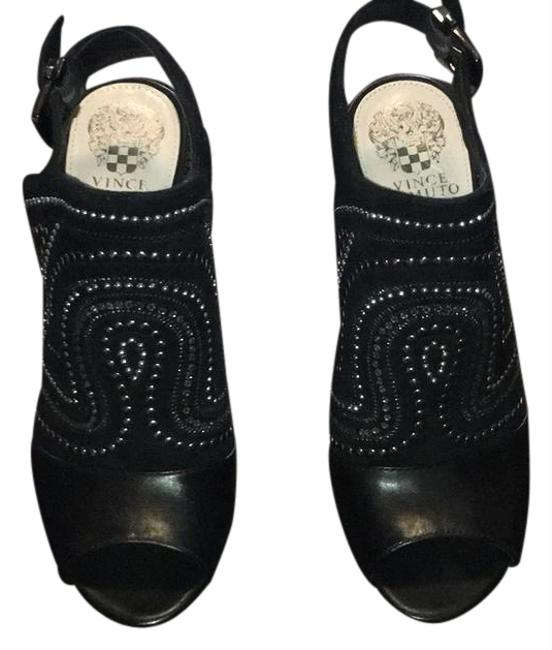 Vince Camuto Black Boots/Booties Size US 8 Regular (M, B) Vince Camuto Black Boots/Booties Size US 8 Regular (M, B) Image 1