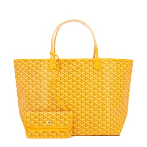 Goyard St Louis Gm St Louis Gm Jaune Tote in Yellow